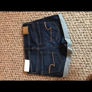 American Eagle Outfitters Shorts - AMERICAN EAGLE NWT - High Rise Shortie, Next Level